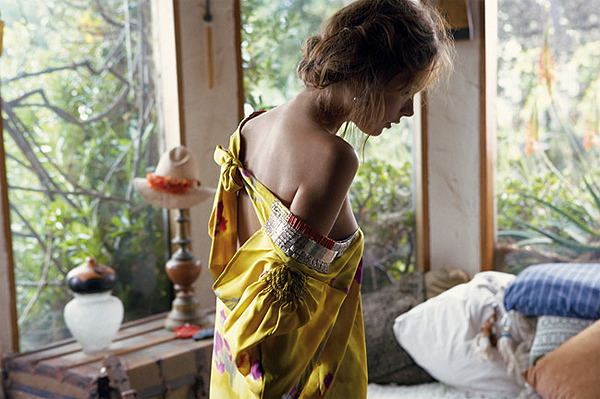 Sea Sex and Sunscreen. The Honeymoon Phase Dries Van Noten dress, $2100