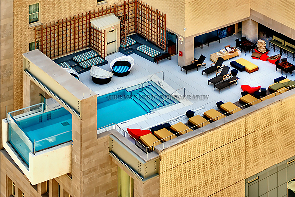 Hotel joule dallas designsigh for Hotels in dallas with indoor pools