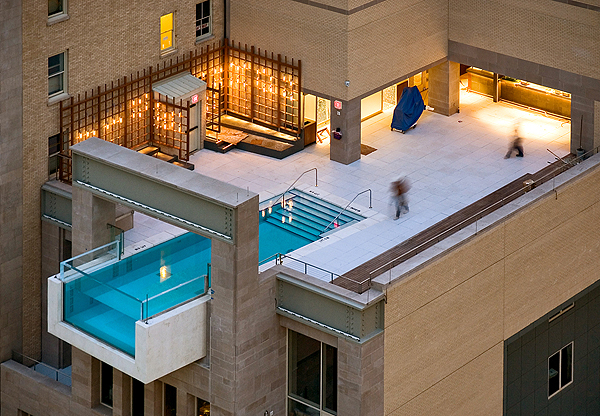 The Joule Dallas Stunning Infinity Pool LuxeInACity