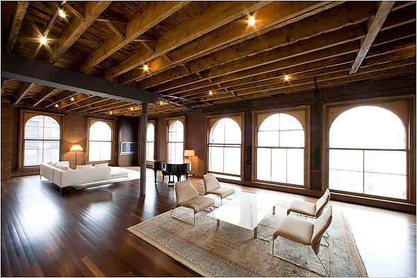Loft e open space pagina 2 Contemporary interiors making the most of light wood