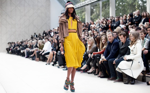 Front Row Burberry