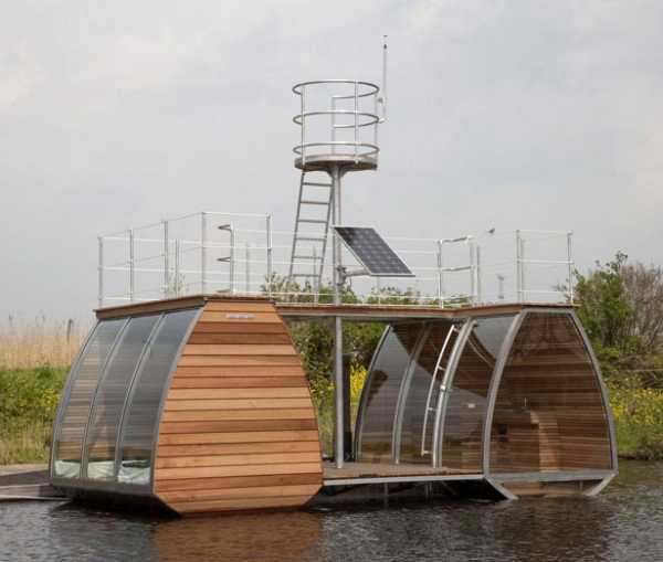 Floating Eco Lodge