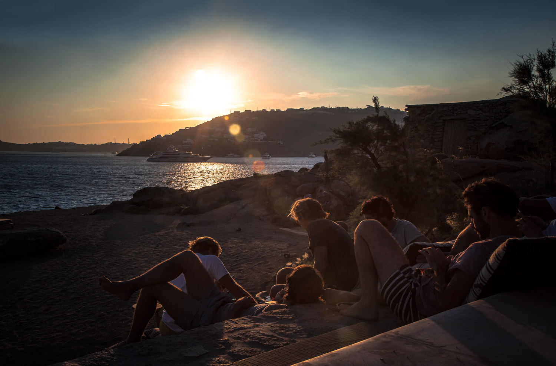 scorpios_mykonos_beach_sunset