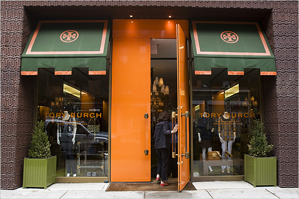 Tory Burch Store In Soho